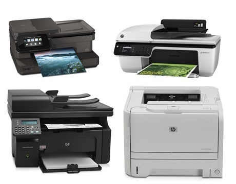 Impresoras<br>Precios especiales HP TOP VALUE Printing